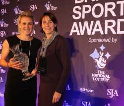 Hockey's Alex Danson received the SJA Committee Award from Sarah Juggins. There was poignancy when Dabson spoke about two recent tragedies in her sport, hockey