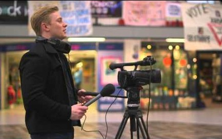 Derby University journalism course