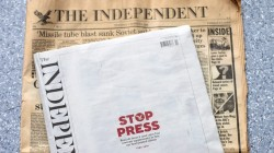 From first to last: 30 years of newspaper publishing ended this month at The Independent