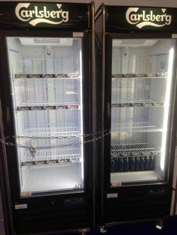 Is your spnsors' beer fridge beer glass half-empty, or half full?