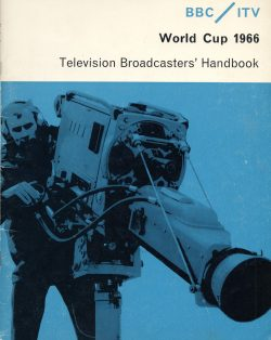 All you needed to know about covering the 1966 World Cup for television