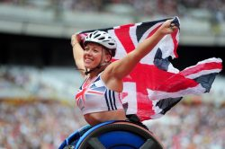 Wheelchair racer Hannah Cockcroft is one of a record-breaking medal-winning British team in Rio