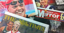 Paralympic front pages