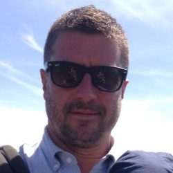 Off to sunnier climes: Matt Gatward