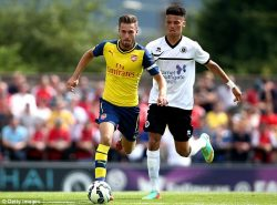 Boreham Wood FC got plenty of coverage for their pre-season friendly against Arsenal