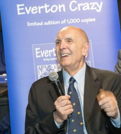 Author David France: devoted years to his support of Everton
