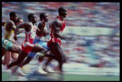 The dirtiest race in history. Photo:  Steve Powell/Allsport