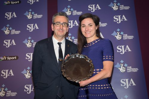 Tim Hollingsworth, of the British Paralympic Association, was our guest presenter when Dame Sarah Storey received the Spirit of Sport Award, chosen by our sponsors, The National Lottery