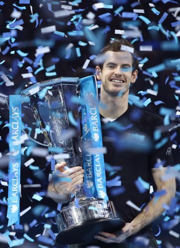Andy Murray, the 2016 SJA Sportsman of the Year. Photo by Julian Finney/Getty Images