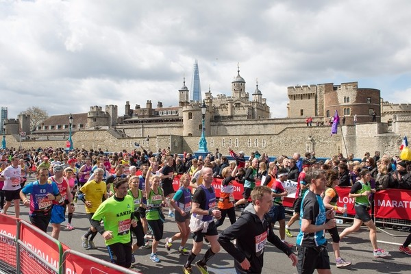 Charity bids are open to win a place in the London Marathon
