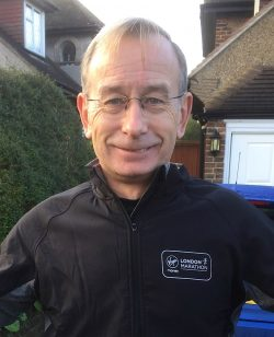 Up and running: Keith Nancarrow