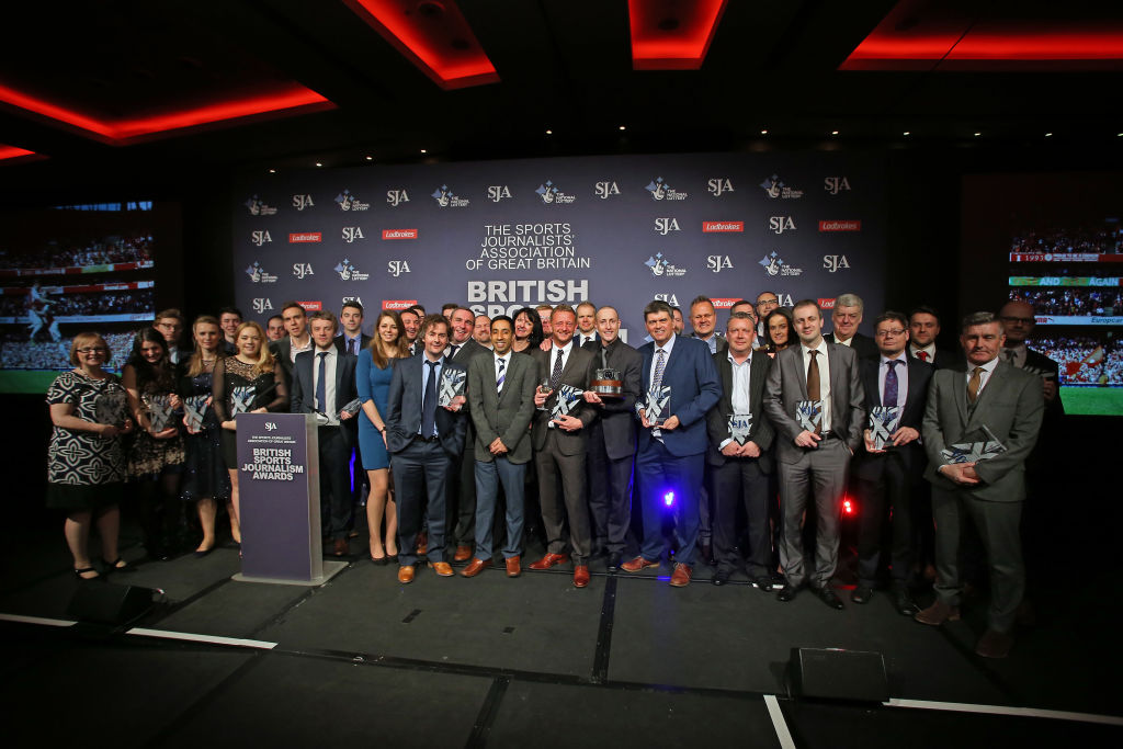 Entries open for SJA British Sports Journalism Awards