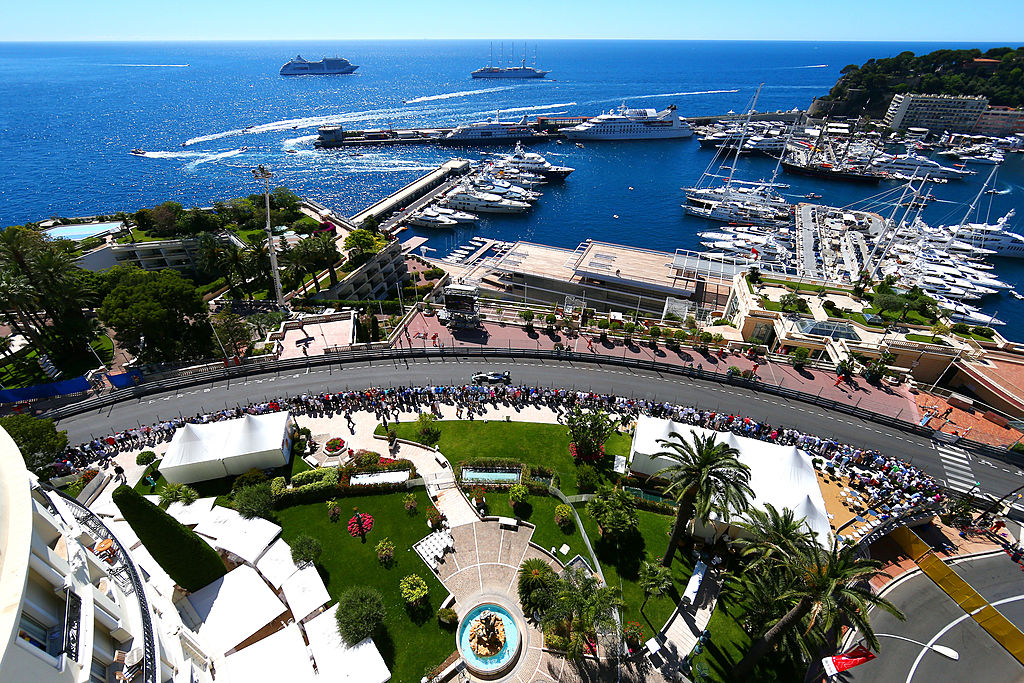 Monaco's 'ribbon of tarmac' brought to life