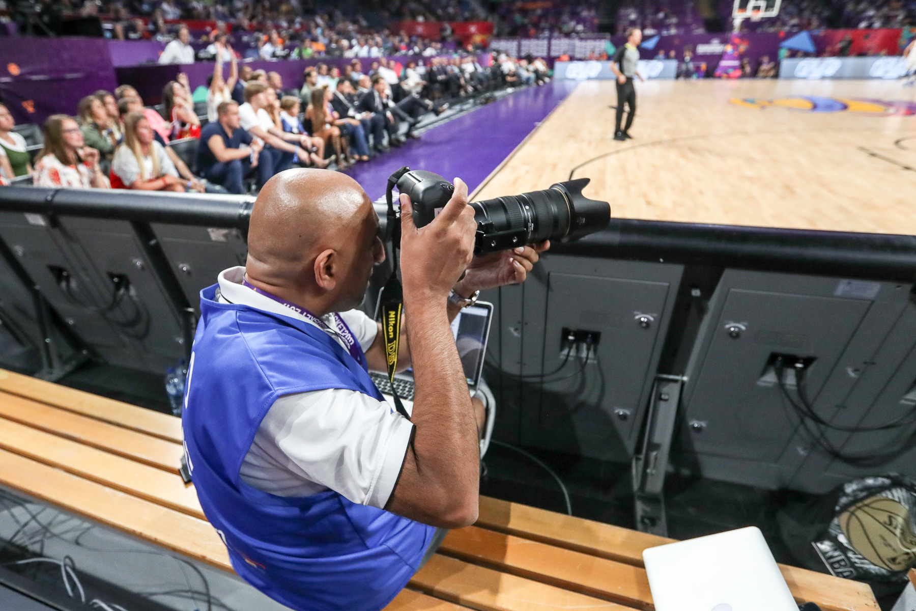 Freelance Mansoor Ahmed the snapper supremo of basketball