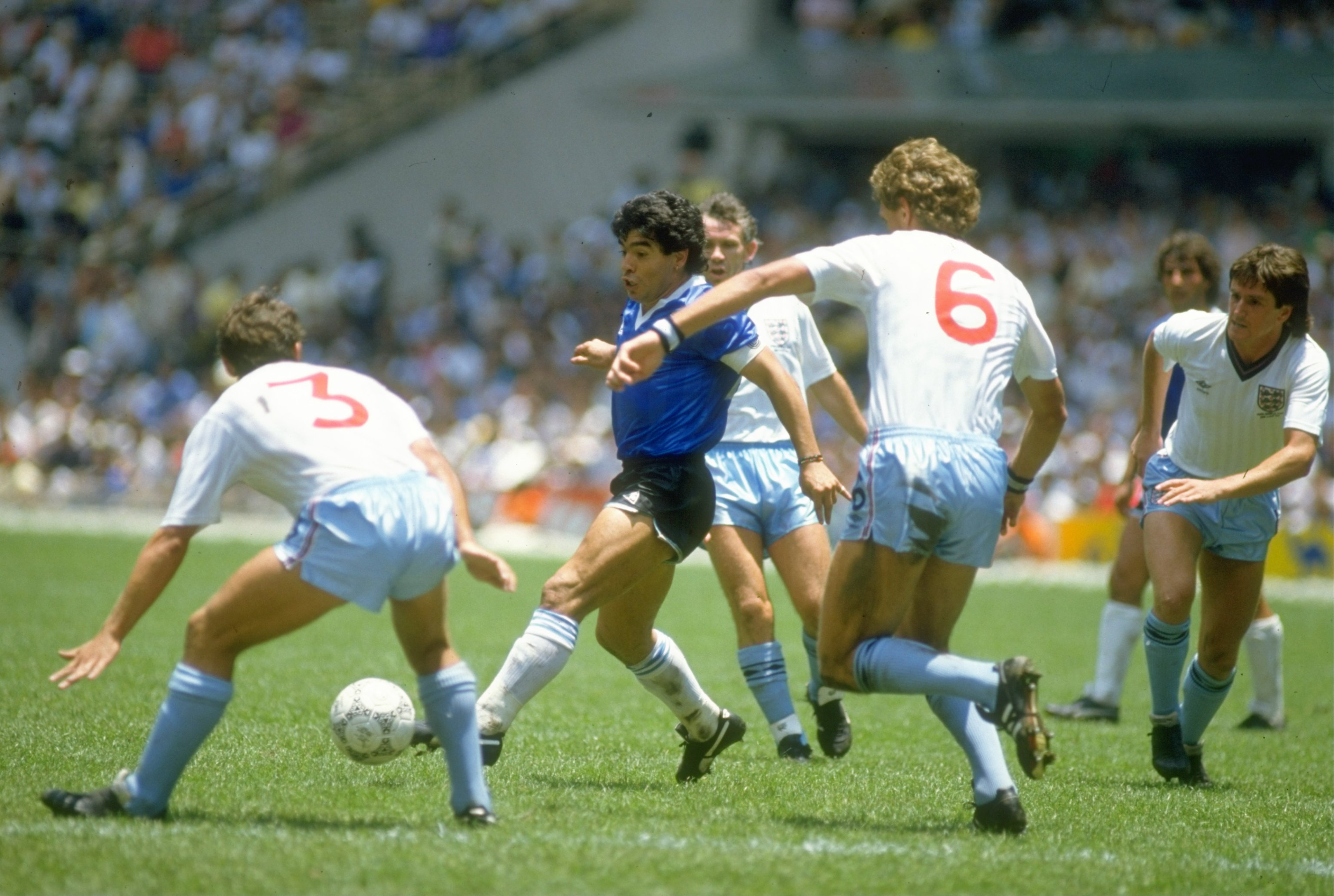 Cheer up, Peter Reid, it's only 31 years of Maradona agony