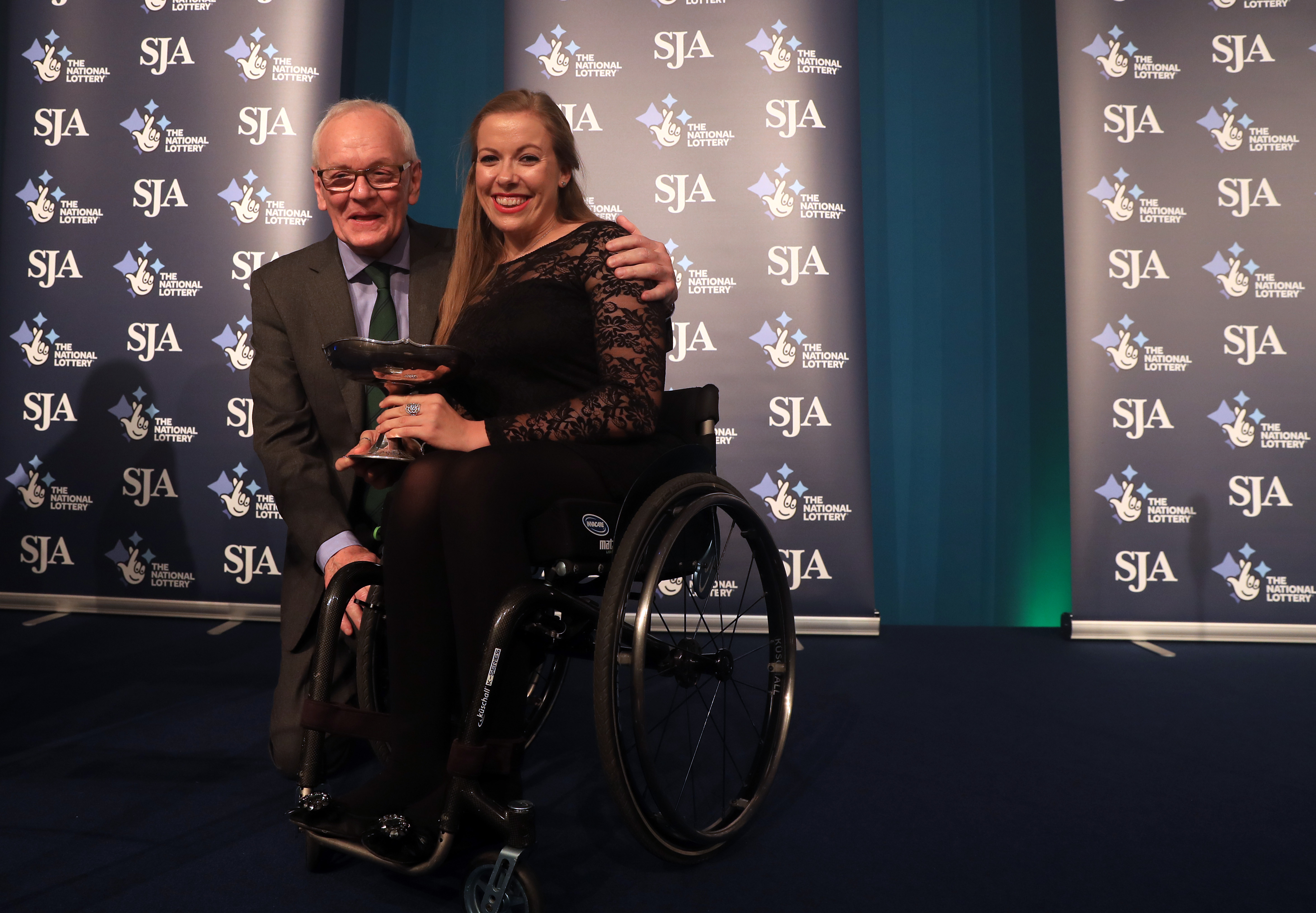To see yourself alongside sporting giants is nice – Hannah Cockroft