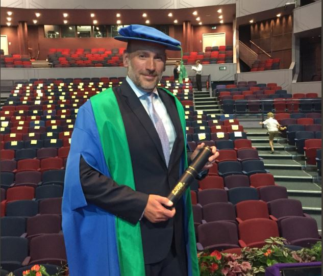 BBC's Roan awarded honorary fellowship from Northampton University