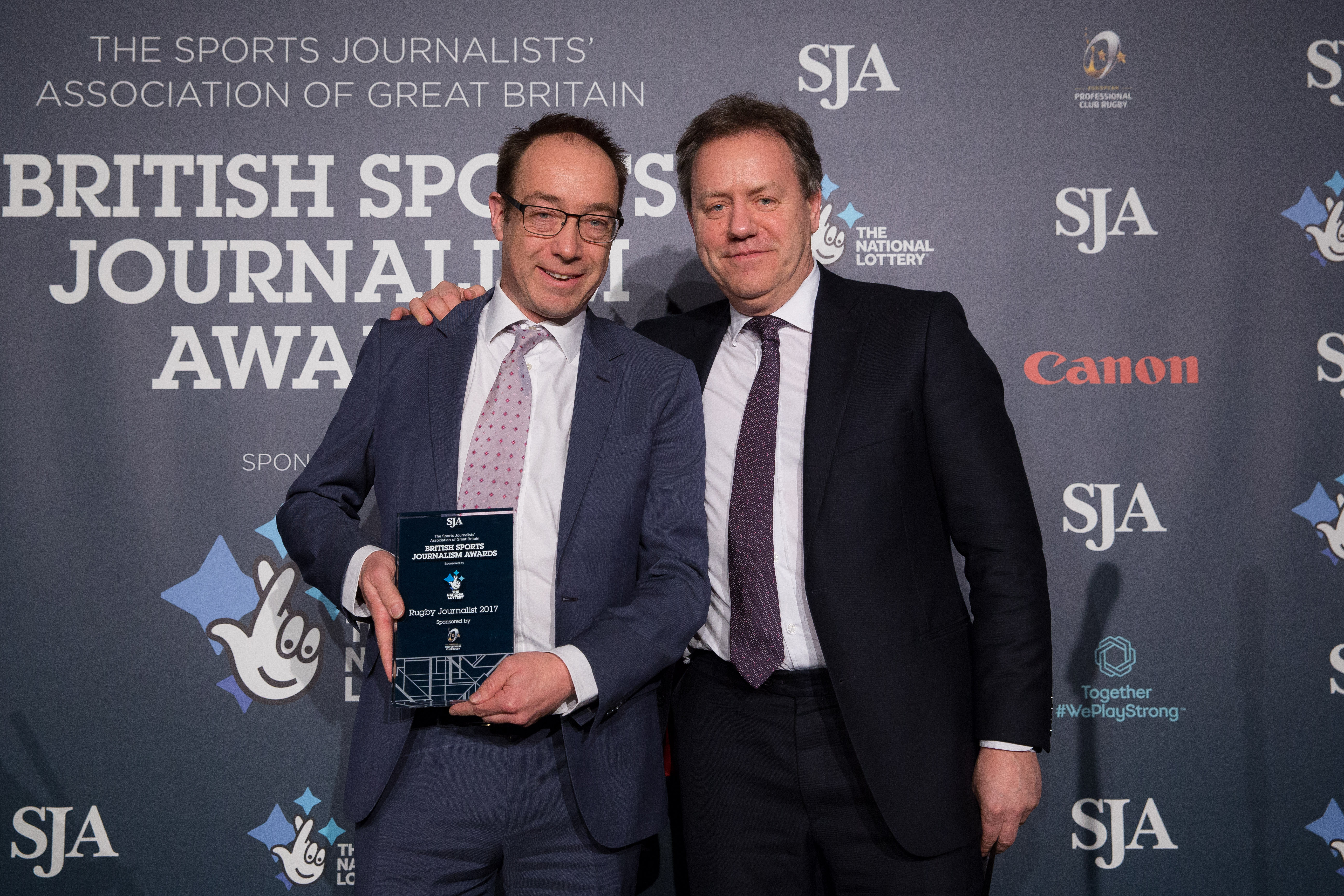 EPCR extend sponsorship of SJA rugby union writer of the year award