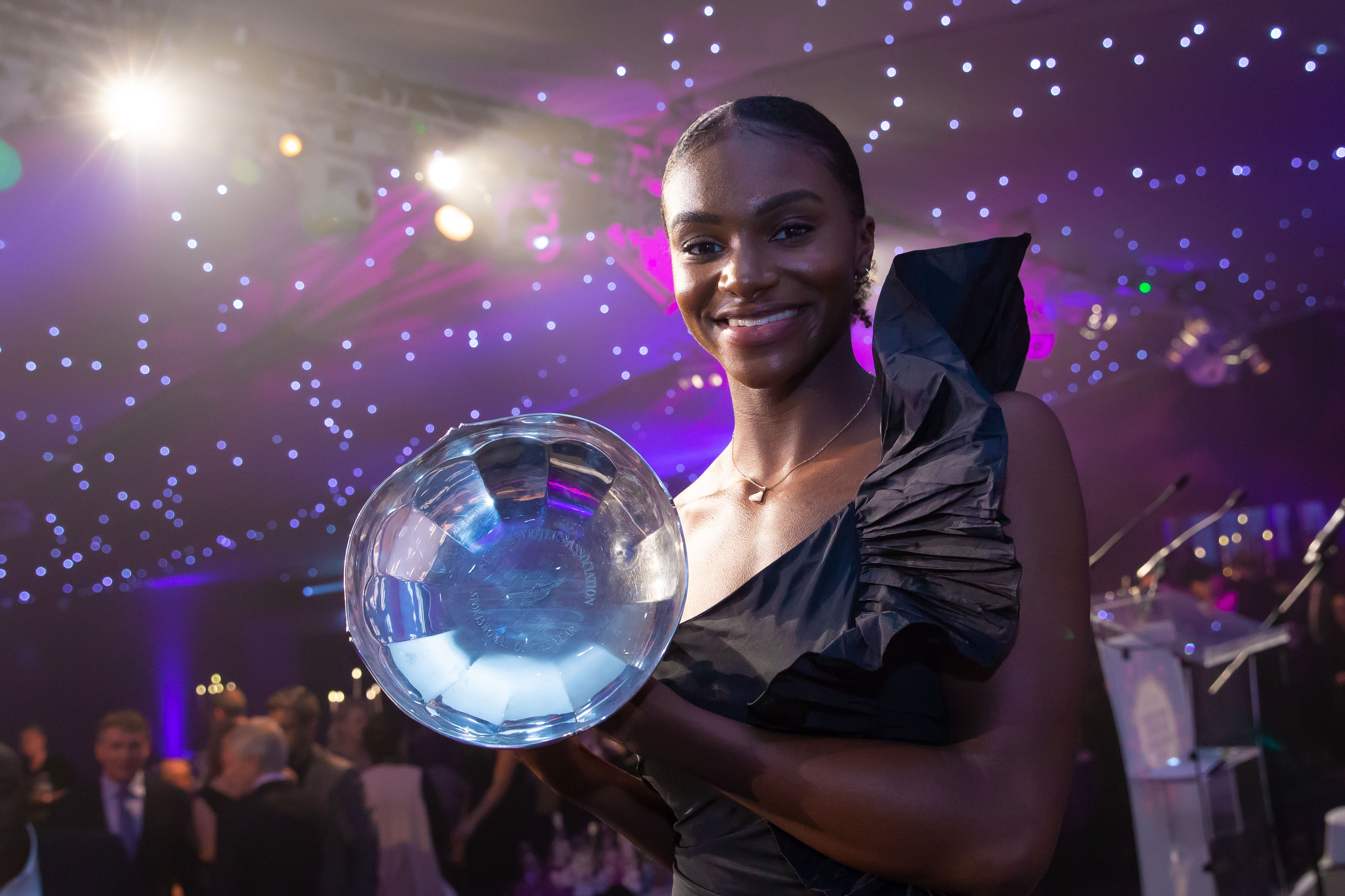 Sportswomen of the Year Dina hits the gold standard again