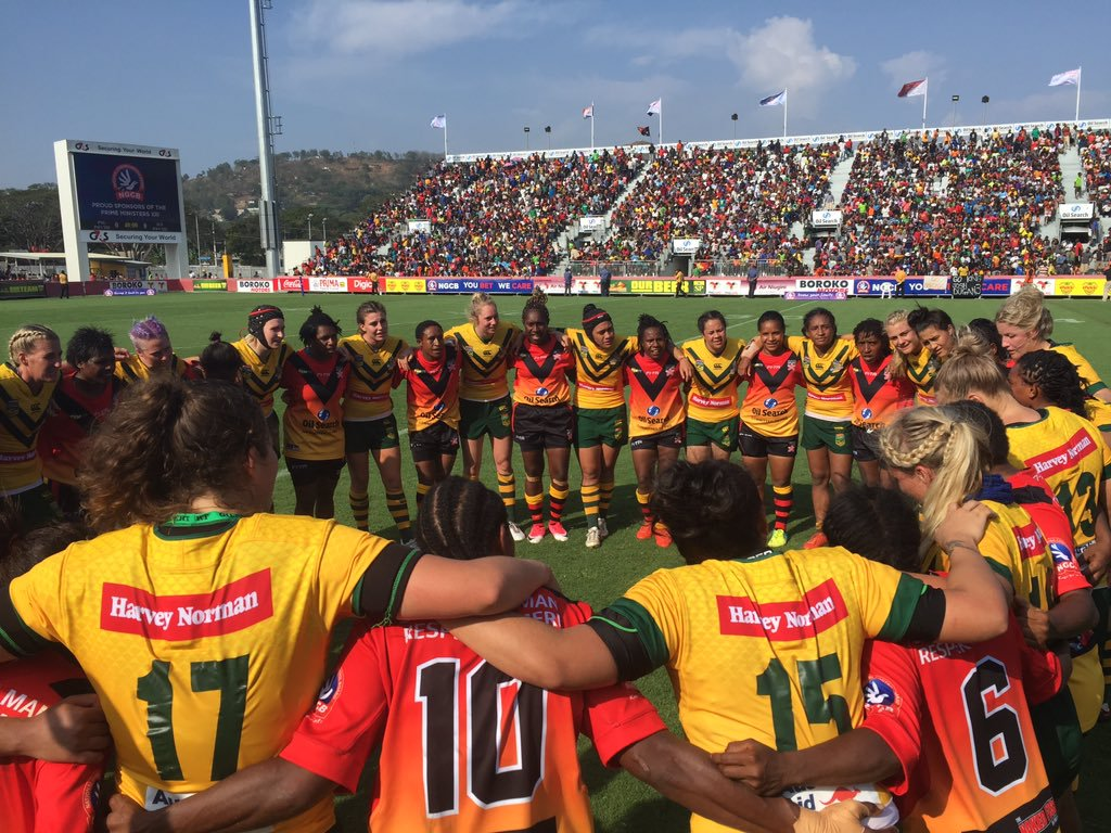 Hit film on Papua New Guinea women's rugby league team comes to UK