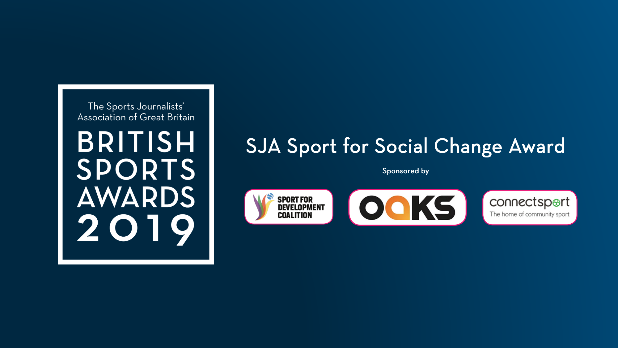 Nominations open for SJA 'Sport for Social Change' Award