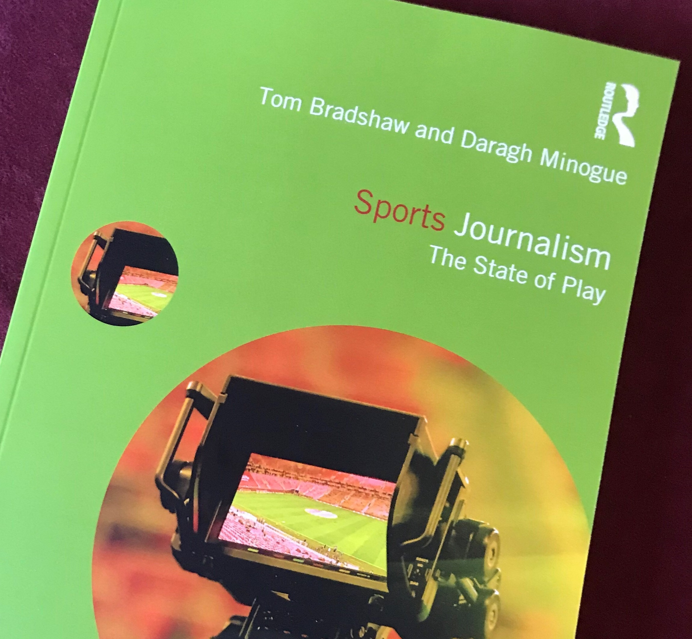 'Confronting a new landscape': Sports journalism academic text launched