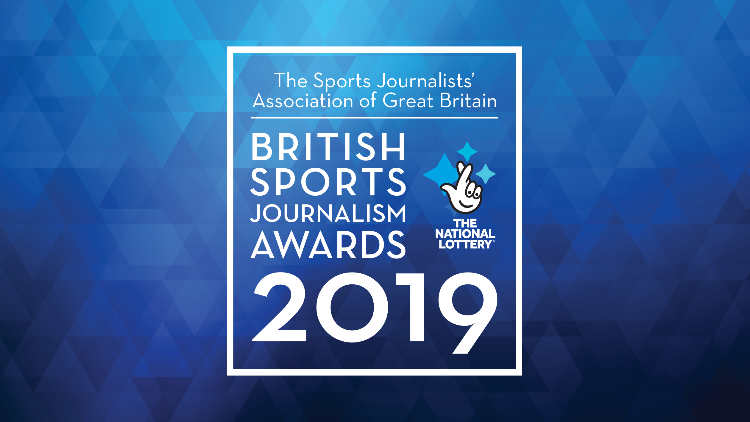 Record entry for SJA British Sports Journalism Awards 2019
