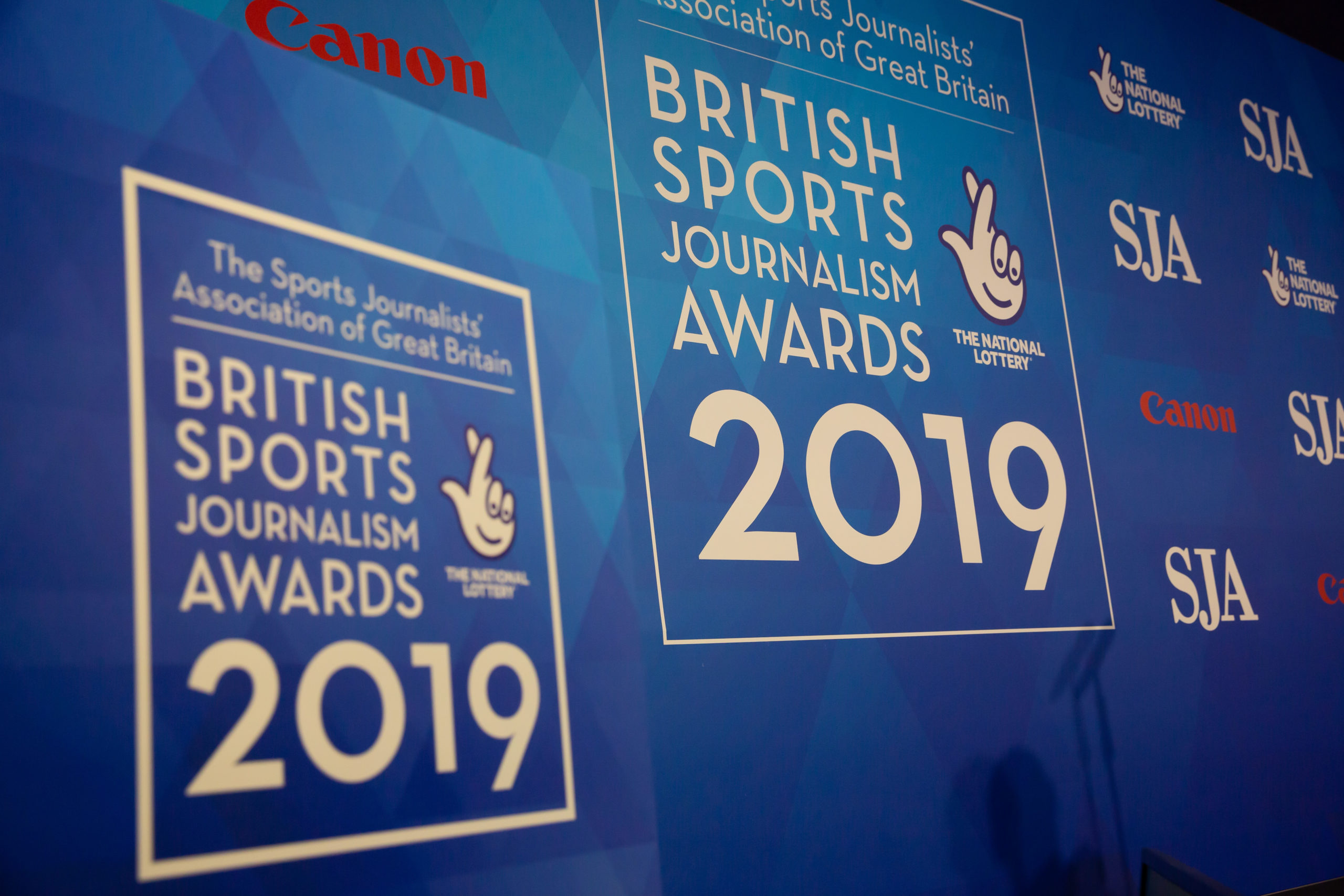 Media release: 2019 British Sports Journalism Awards winners