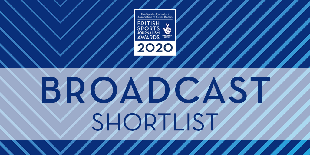 SJA British Sports Journalism Awards 2020: broadcast shortlists