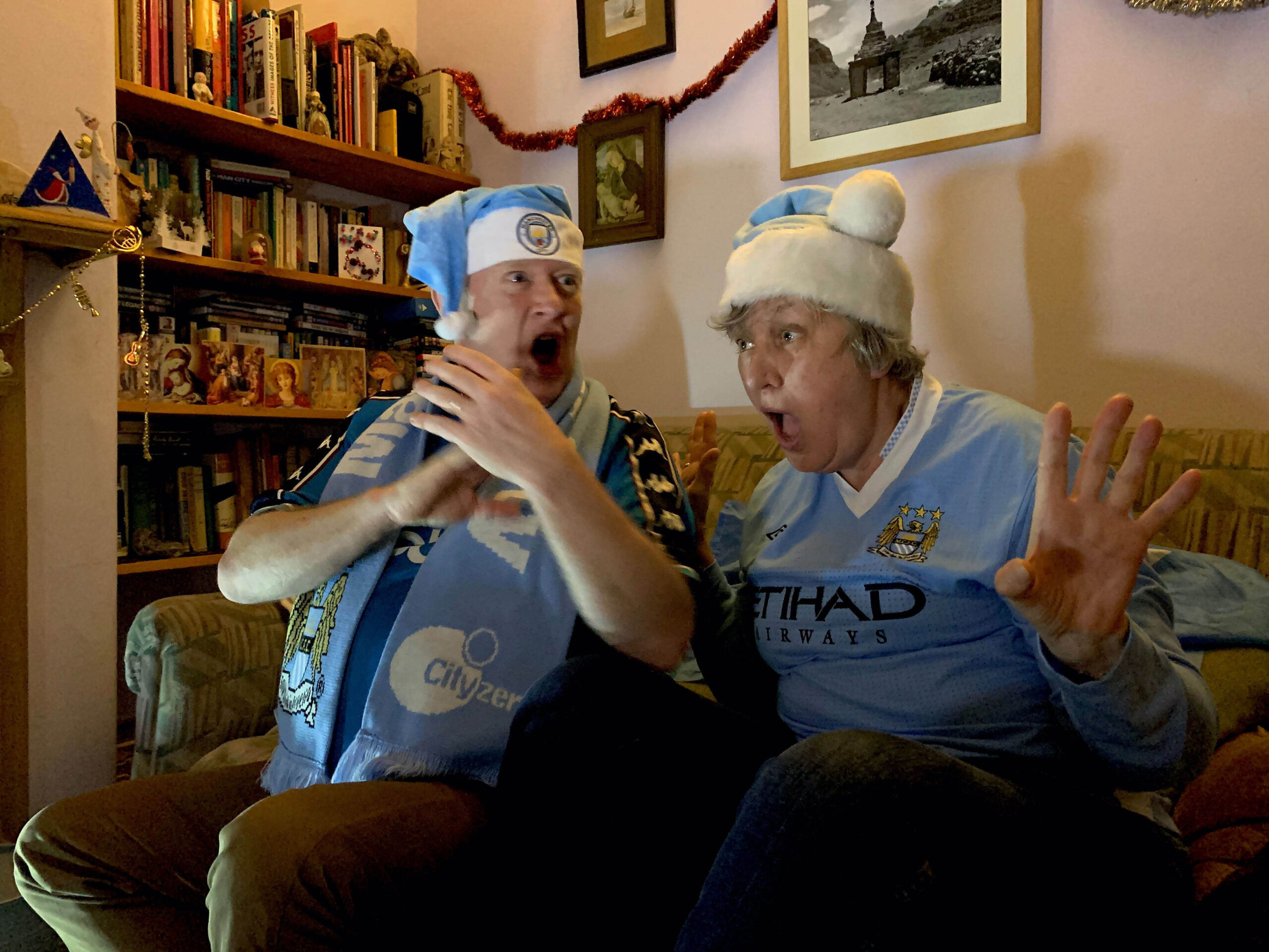 Football photographer Clarke captures a season of fans watching in lockdown