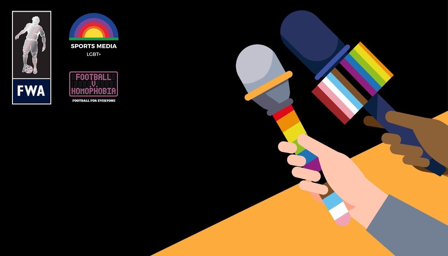 Leading voices in football media talk LGBTQ+ inclusion on Pride panel – listen via podcast